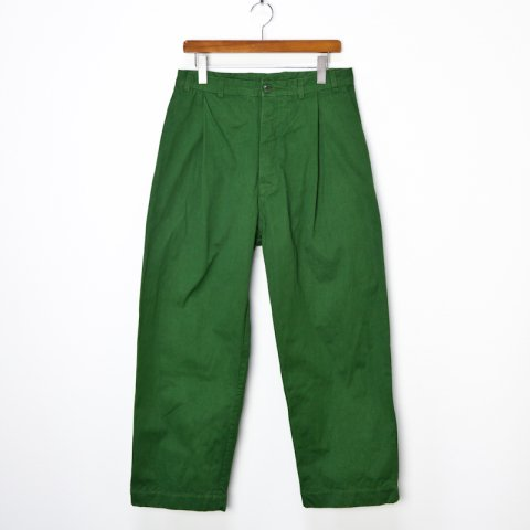 CASEY CASEY * 12HP149 BASIC LONG PANT * Green