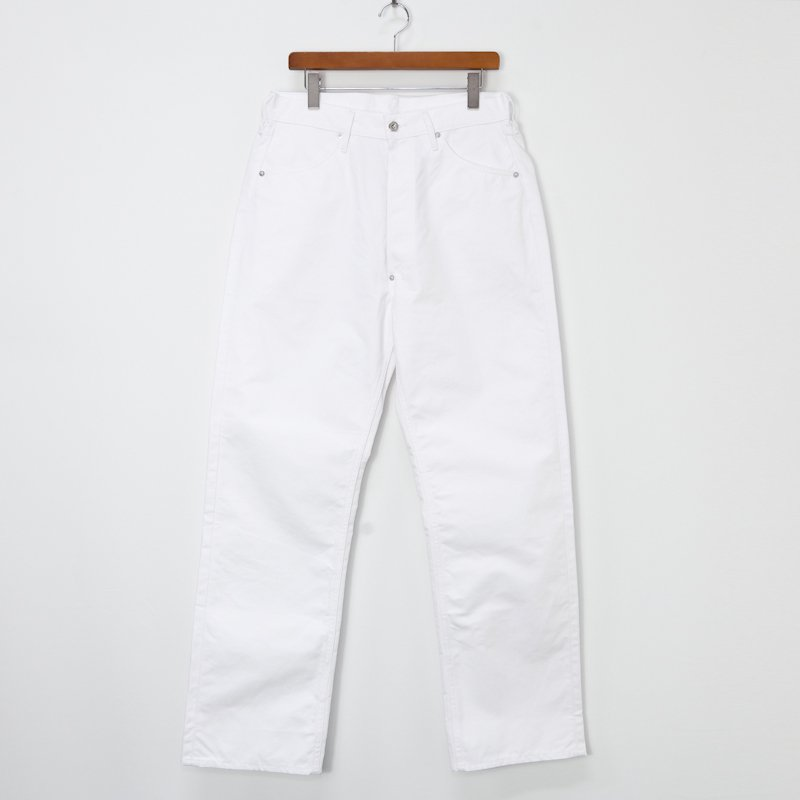 TUKI * Super Duck Tail Pants * White