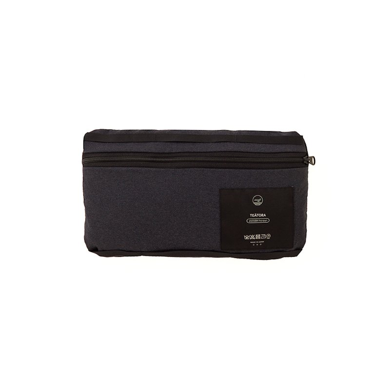 TEATORA  * Wallet Shorts Packable Horizon * Black