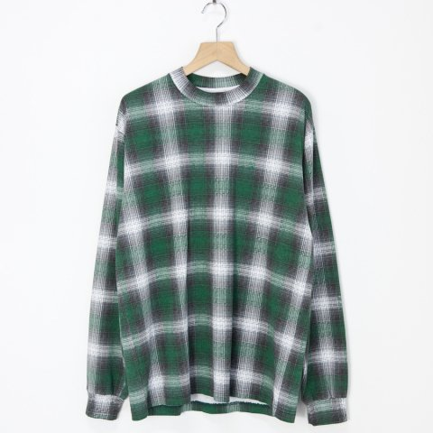 FRESHJIVE * Shadow Long Sleeve Tee * Green/Gray