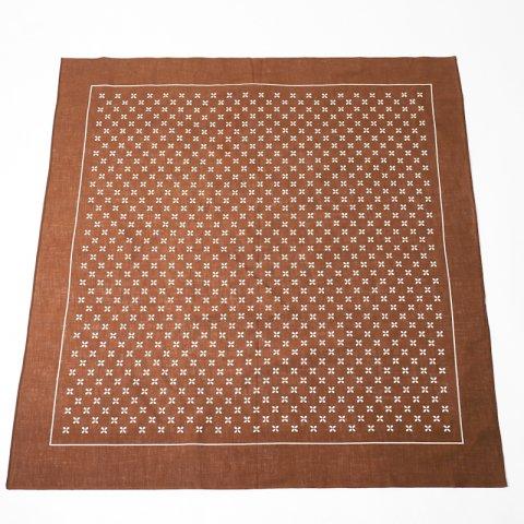 DEADSTOCK * Blumer 小紋 Pattern Bandana * Brown