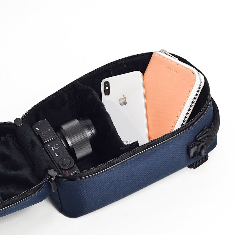 LEXDRAY  * Monterey Camera Insert * Dark Navy