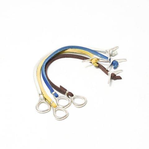 JILL PLATNER * jp rawhide bracelet