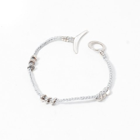 JILL PLATNER * coyote bracelet * Light Grey