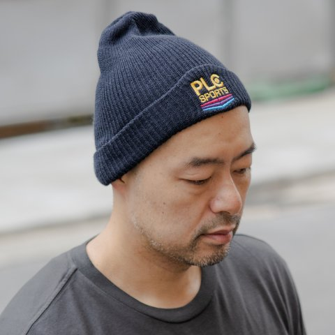 PASADENA LEISURE CLUB * PLC Sports Beanie * Navy
