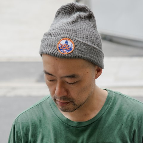 PASADENA LEISURE CLUB * No Work Beanie * Grey