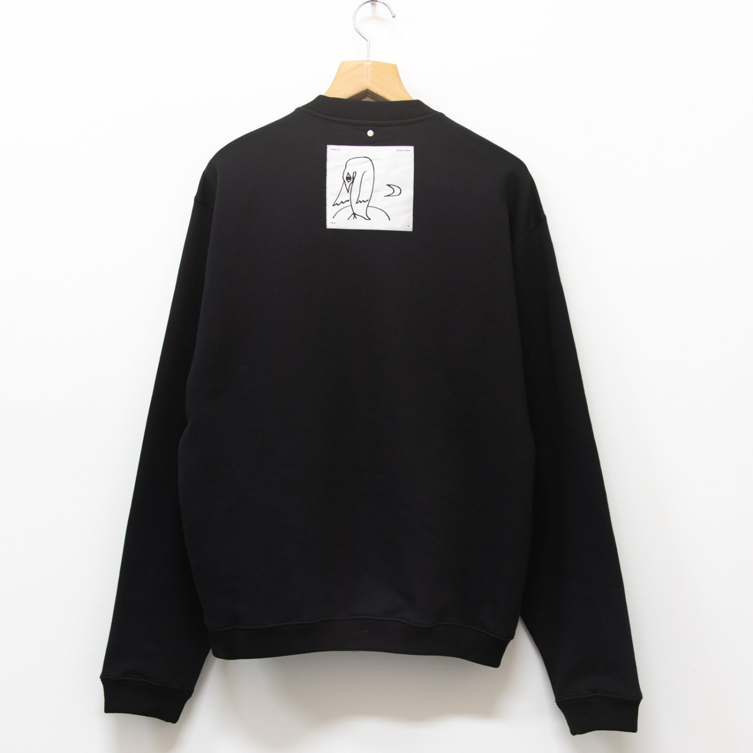 OAMC * NOISE CREWNECK * Black
