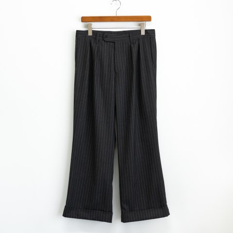 ts(s) * 2 In-Pleat Wide Pants * Stripe