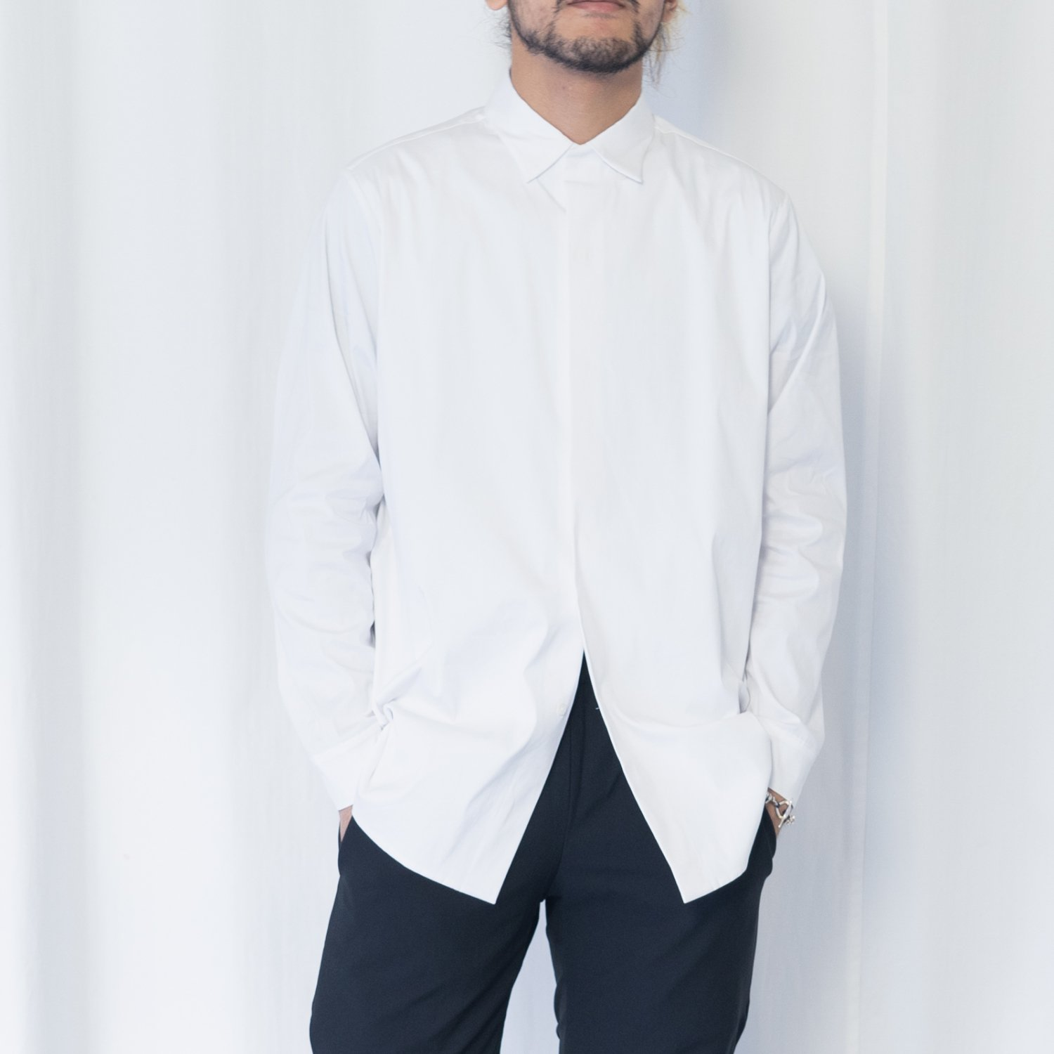 TEATORA  * Keyboard Shirt * White