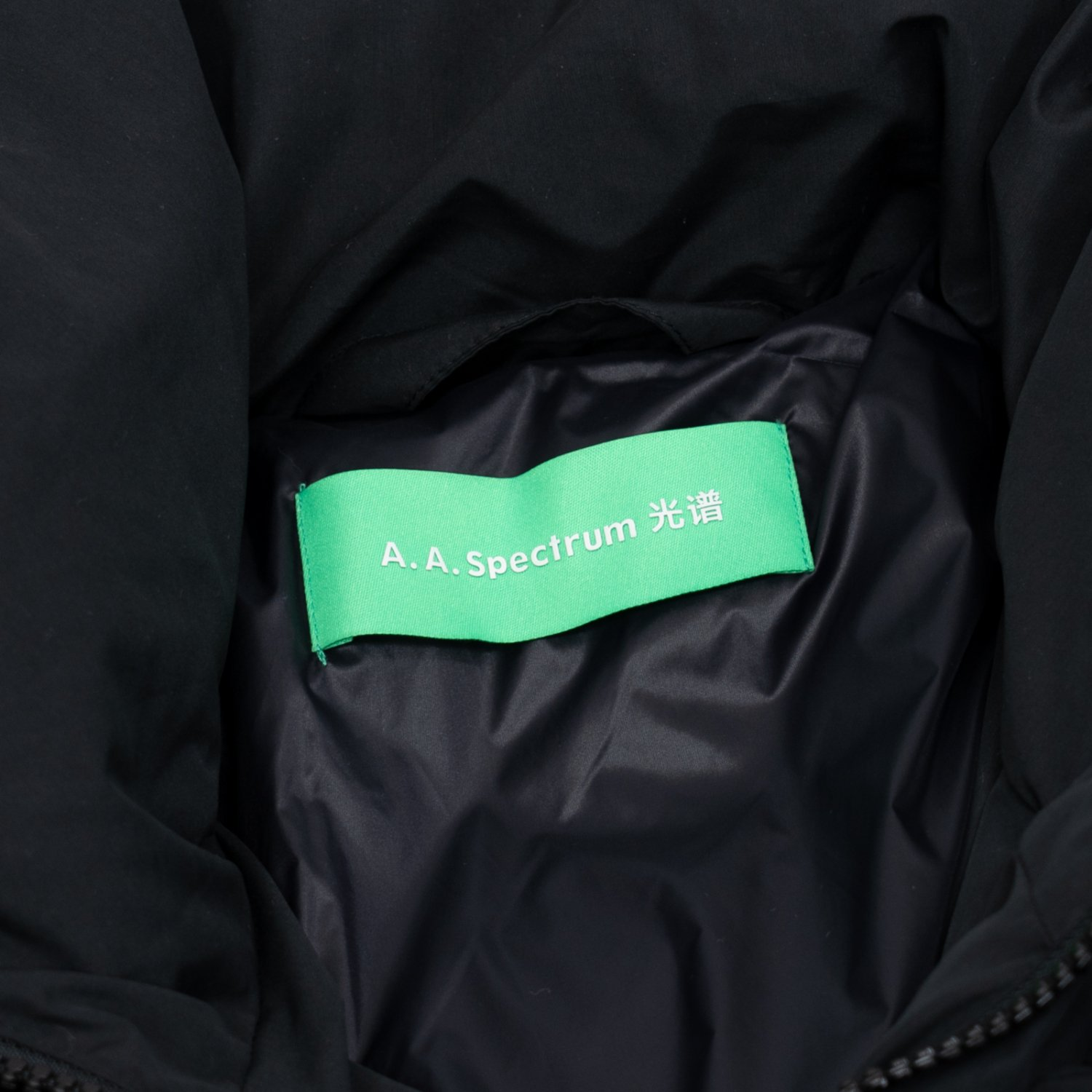 A.A.Spectrum * DROP DOWN JACKET * Black
