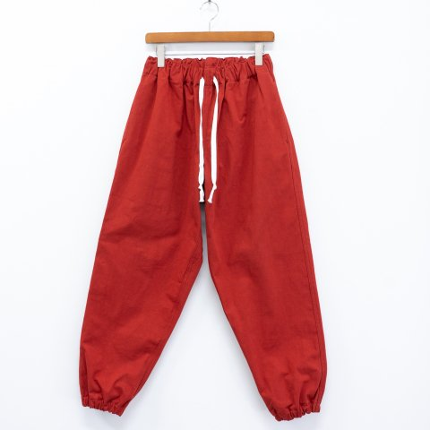 TUKI * Gum Pants * Red