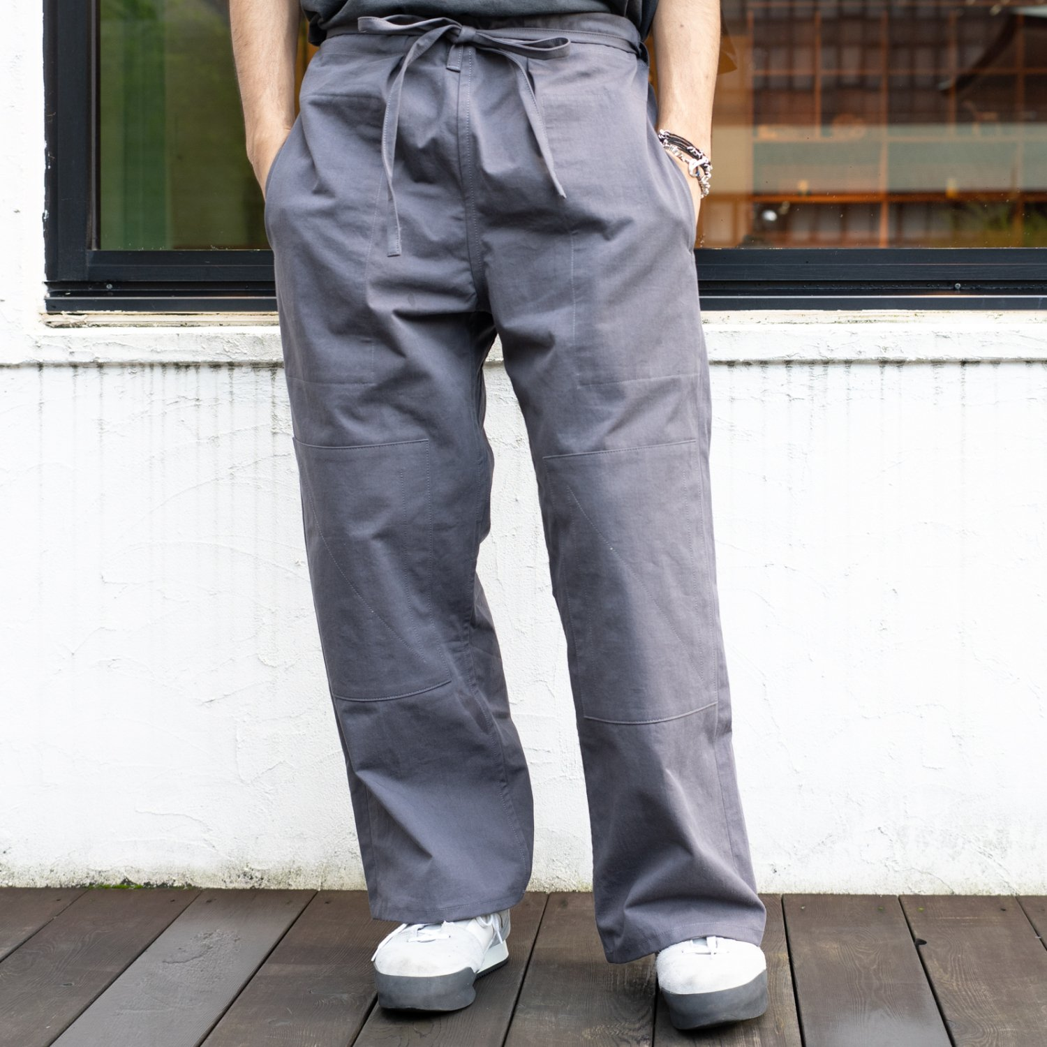 TUKI * Karate Pants * German Gray