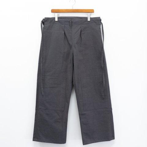 TUKI(SOLD OUT) * Karate Pants * German Gray