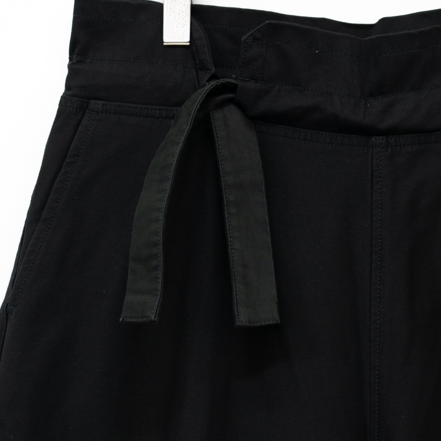 Porter Classic * STRETCH CHINESE PANTS * Black