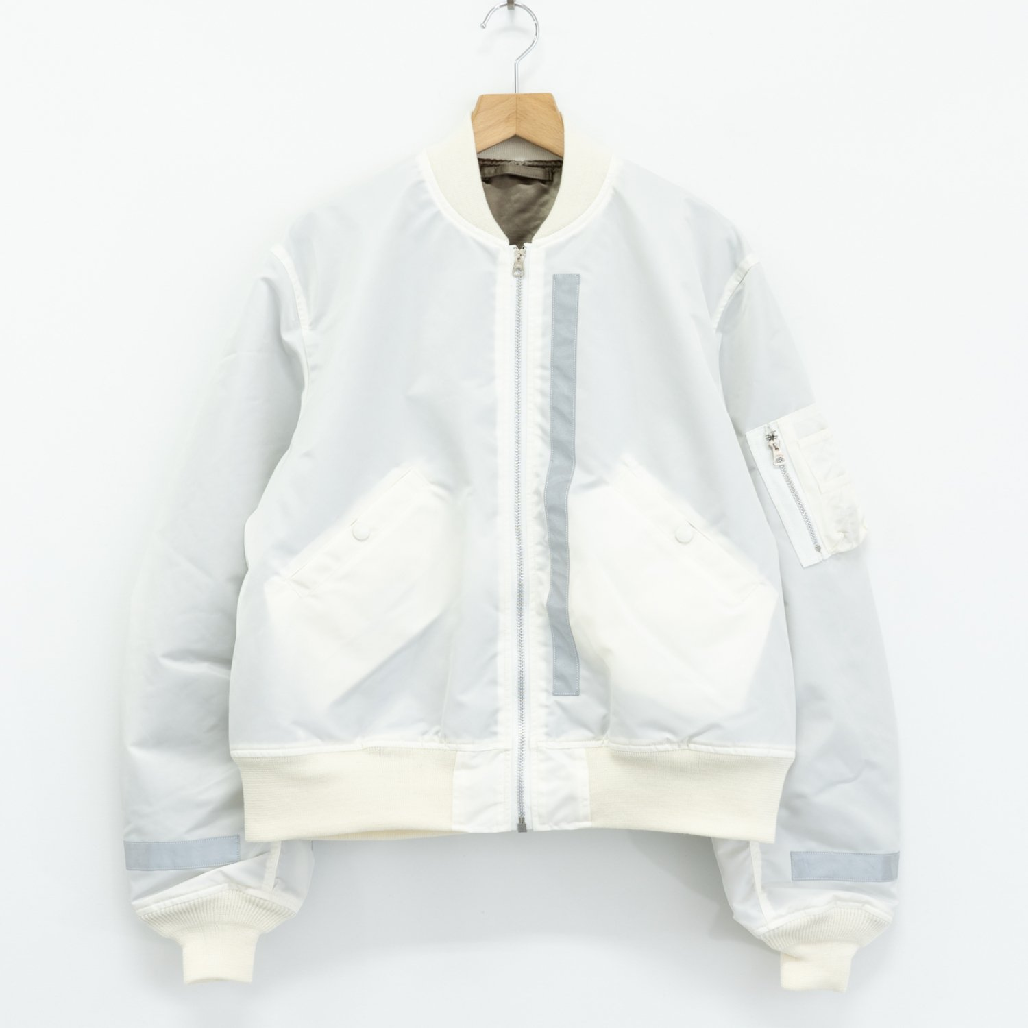 UNUSED * US1640 ×Buzz Rickson's L-2B Jacket * White