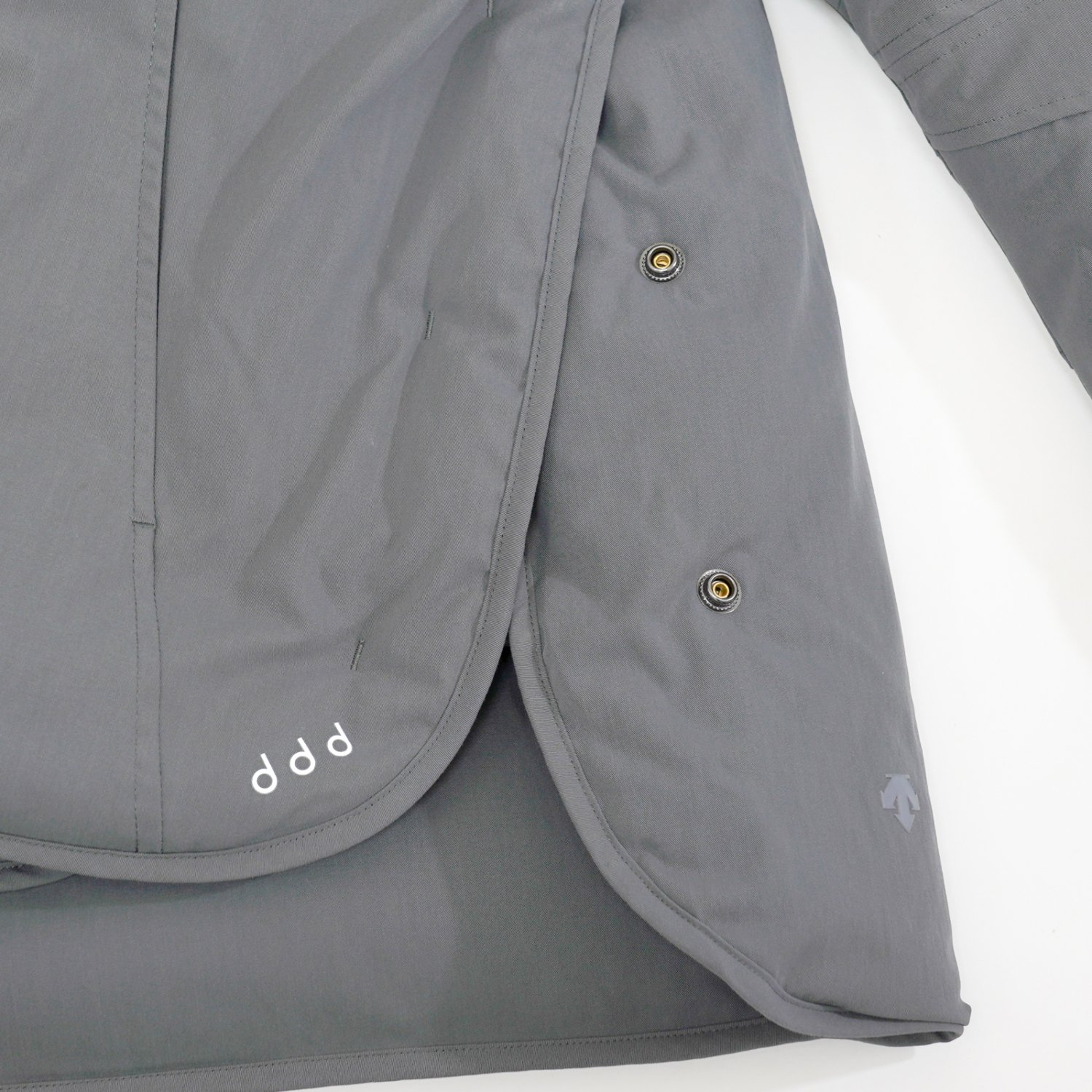 DESCENTE ddd * HEATNAVI PUFF DOWN JACKET * Gray