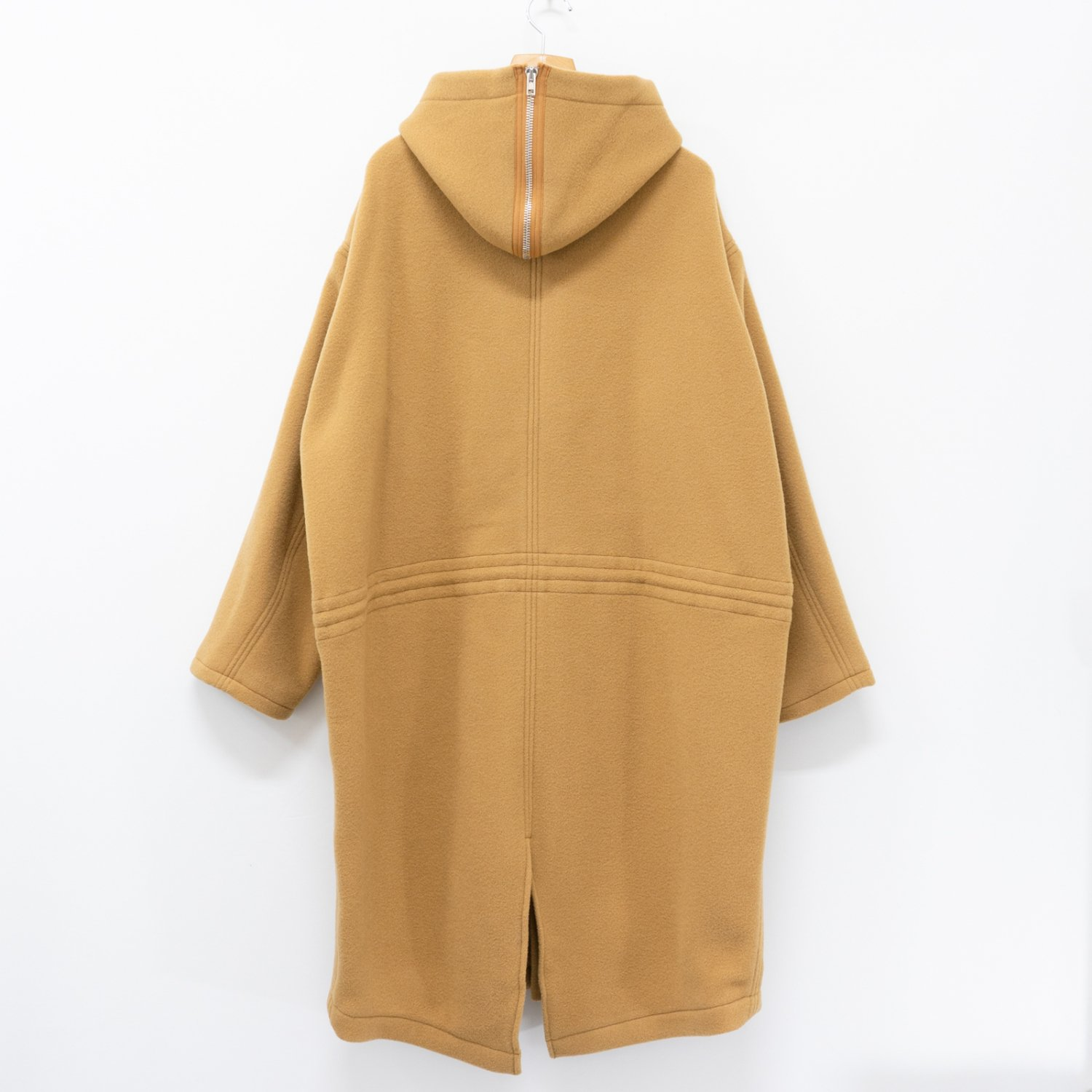 UNUSED *  US1654 Hood Coat * Camel