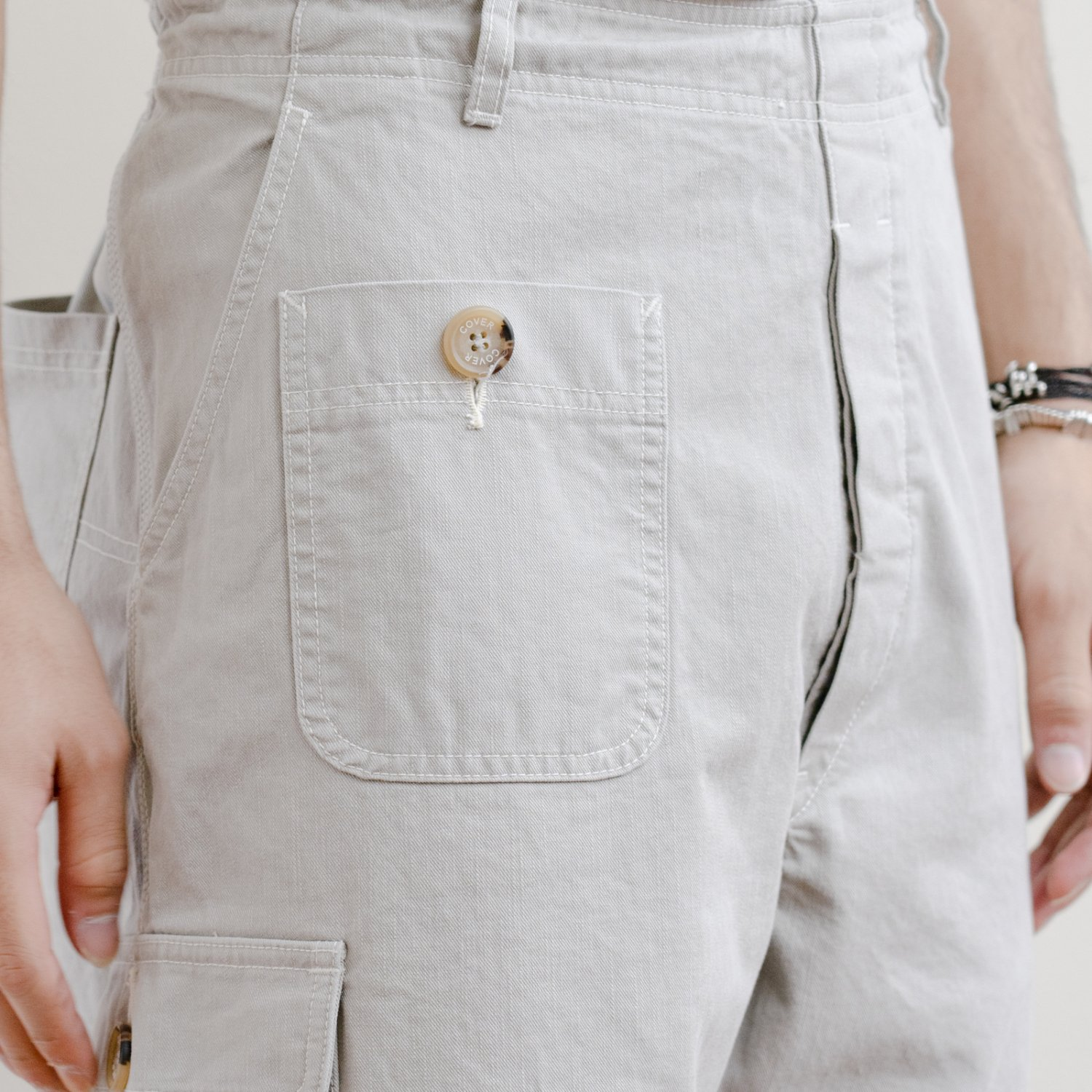 COVER * Military Pants * Gray