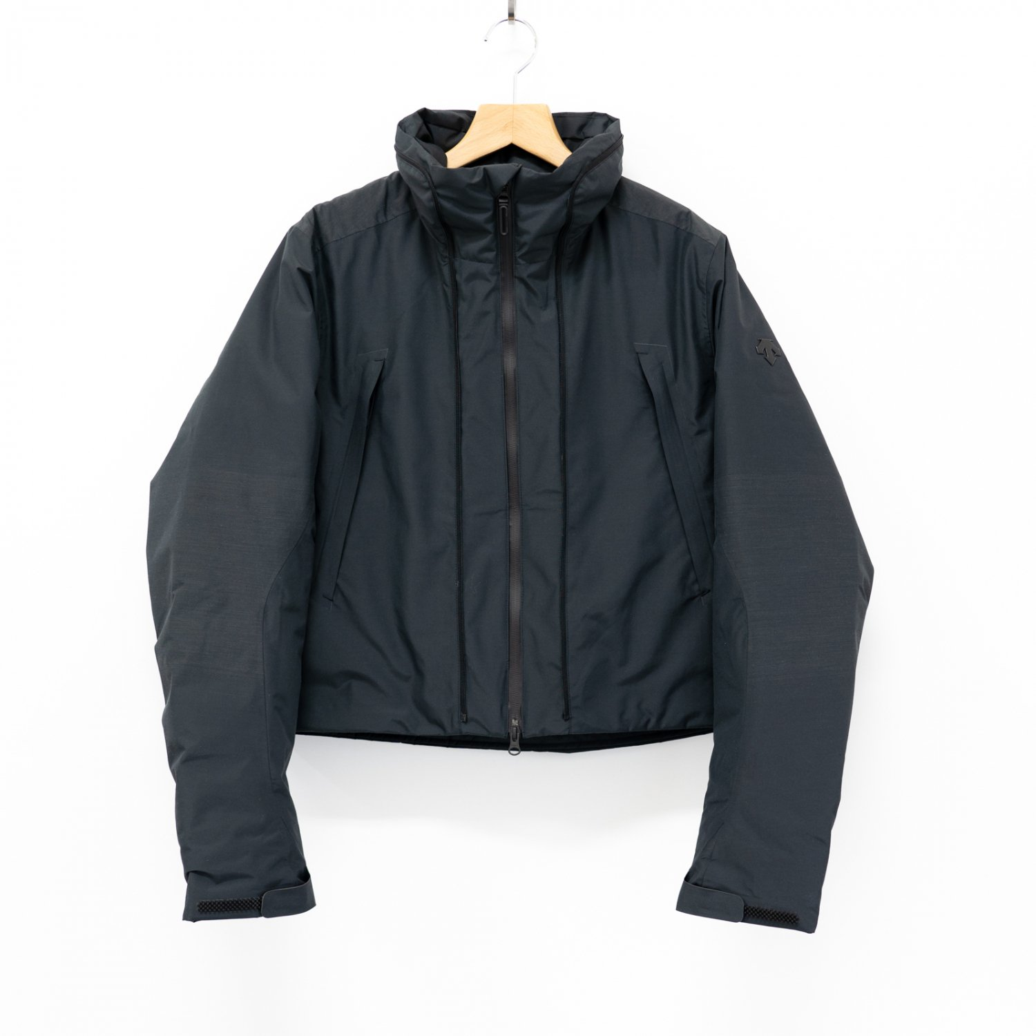 DESCENTE ALLTERRAIN  * TRANSFORM DOWN COAT * Black
