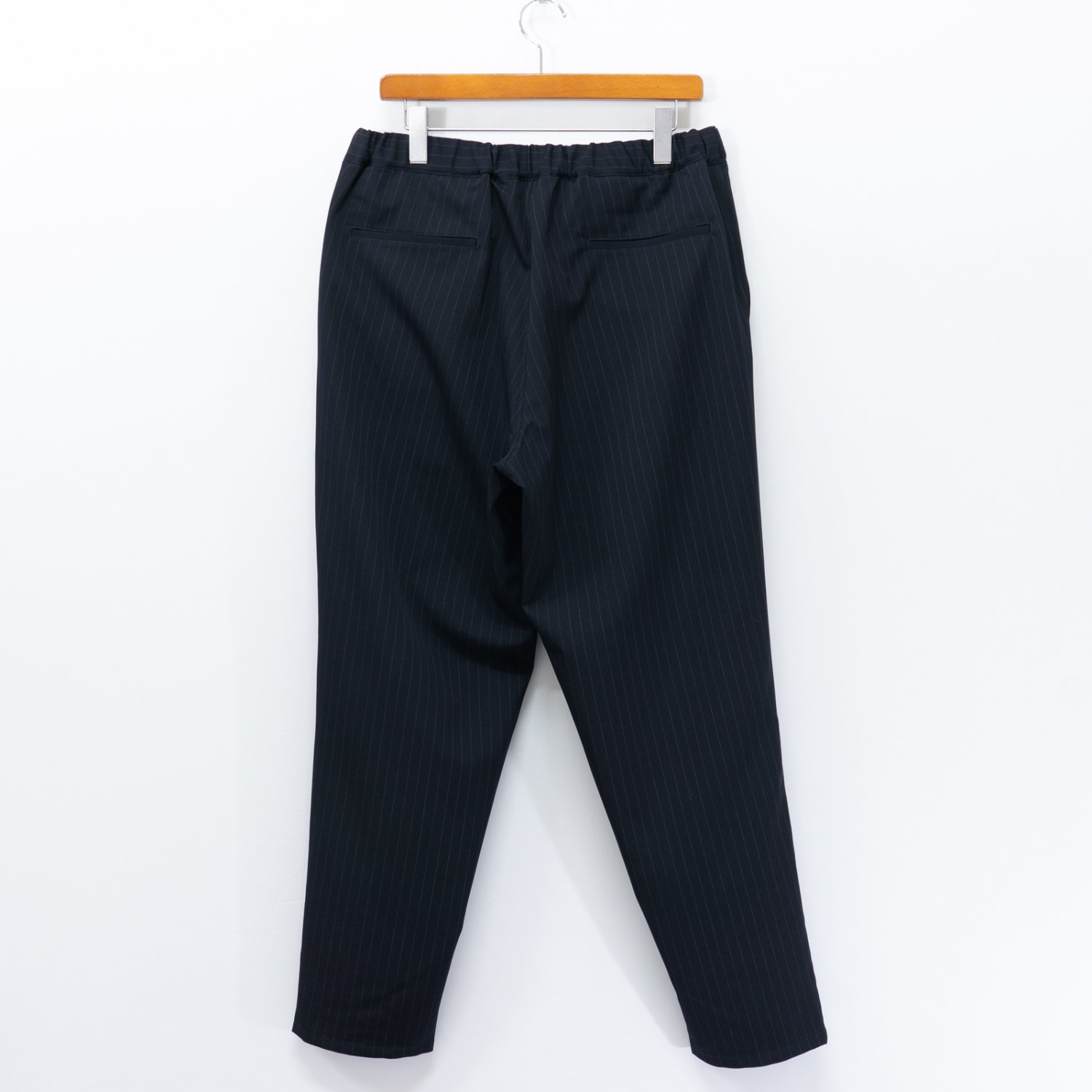 Graphpaper * Selvage Wool Cook Pants * Navy Stripe