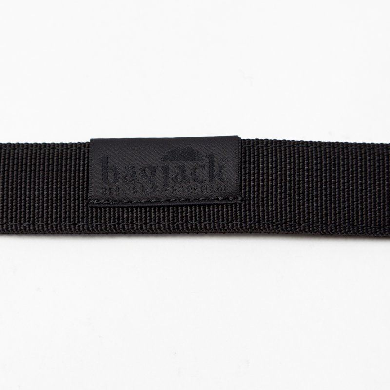 bagjack * NXL Belt Cobra Black Buckle 25mm * Black