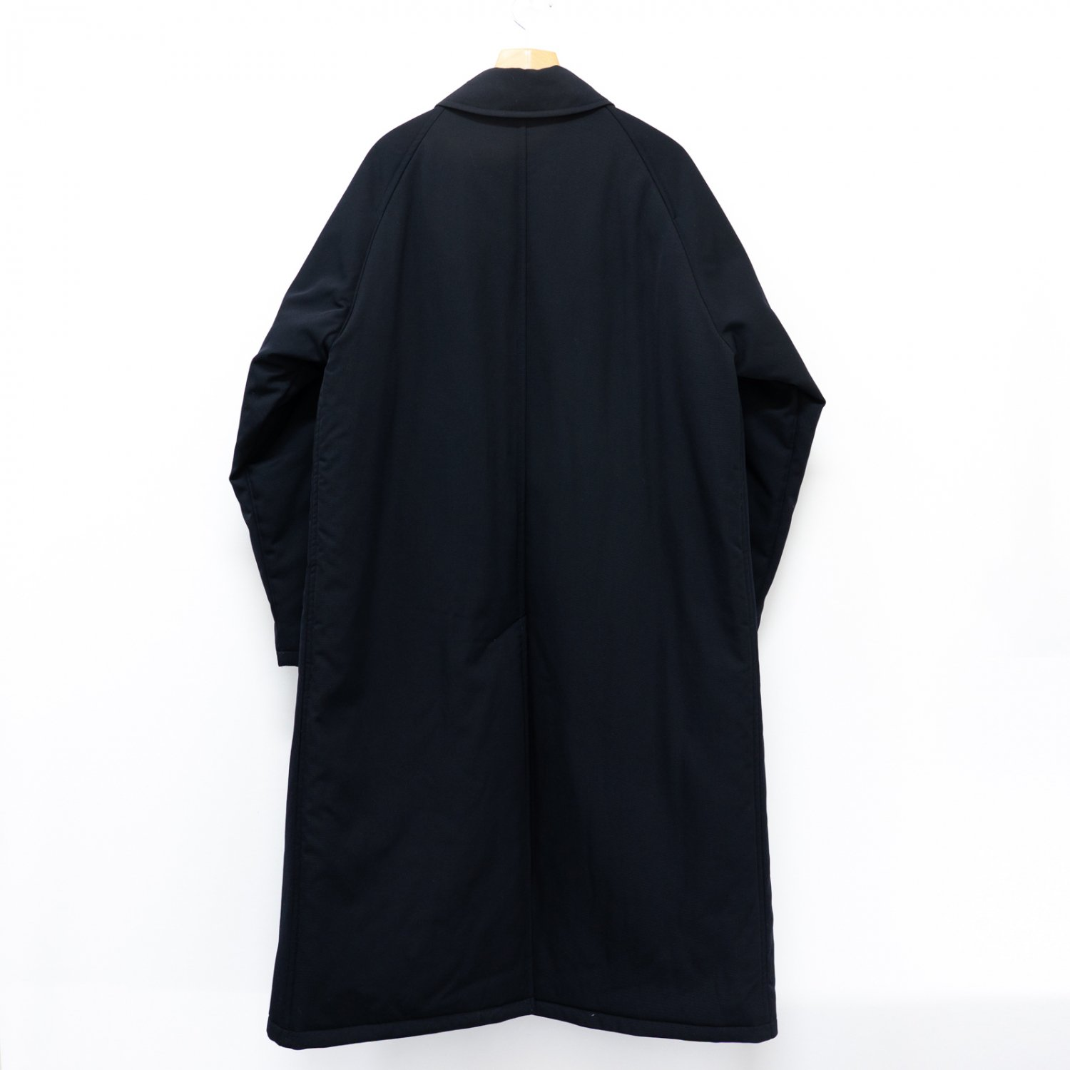 Graphpaper * Selvage Wool Pudding Coat * Navy