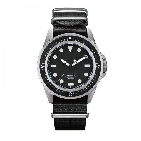 UNIMATIC * U1-F * Black/Silver