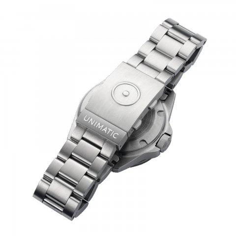UNIMATIC * Solid Steel Bracelet  * Silver