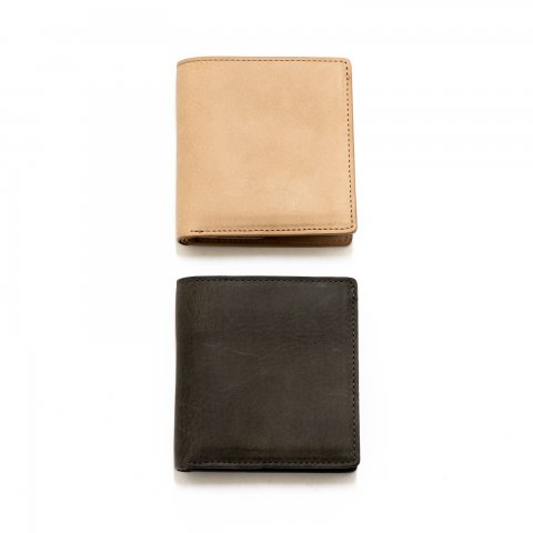 hobo * Oiled Cow Leather Biford Wallet