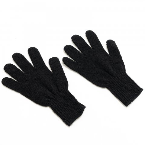 GARY LLC * Wool Liner Gloves * Black