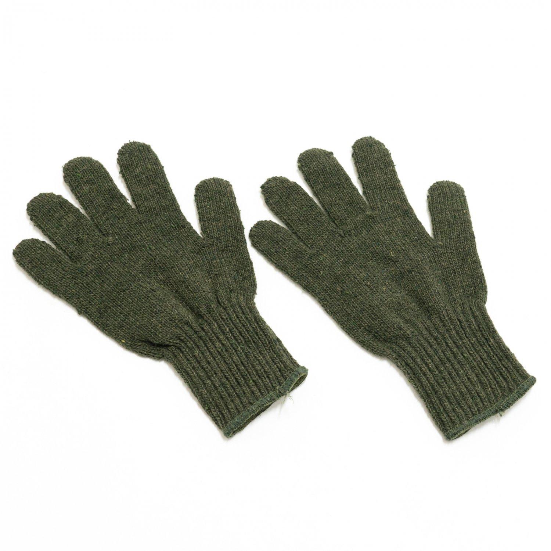 GARY LLC * Wool Liner Gloves * Olive