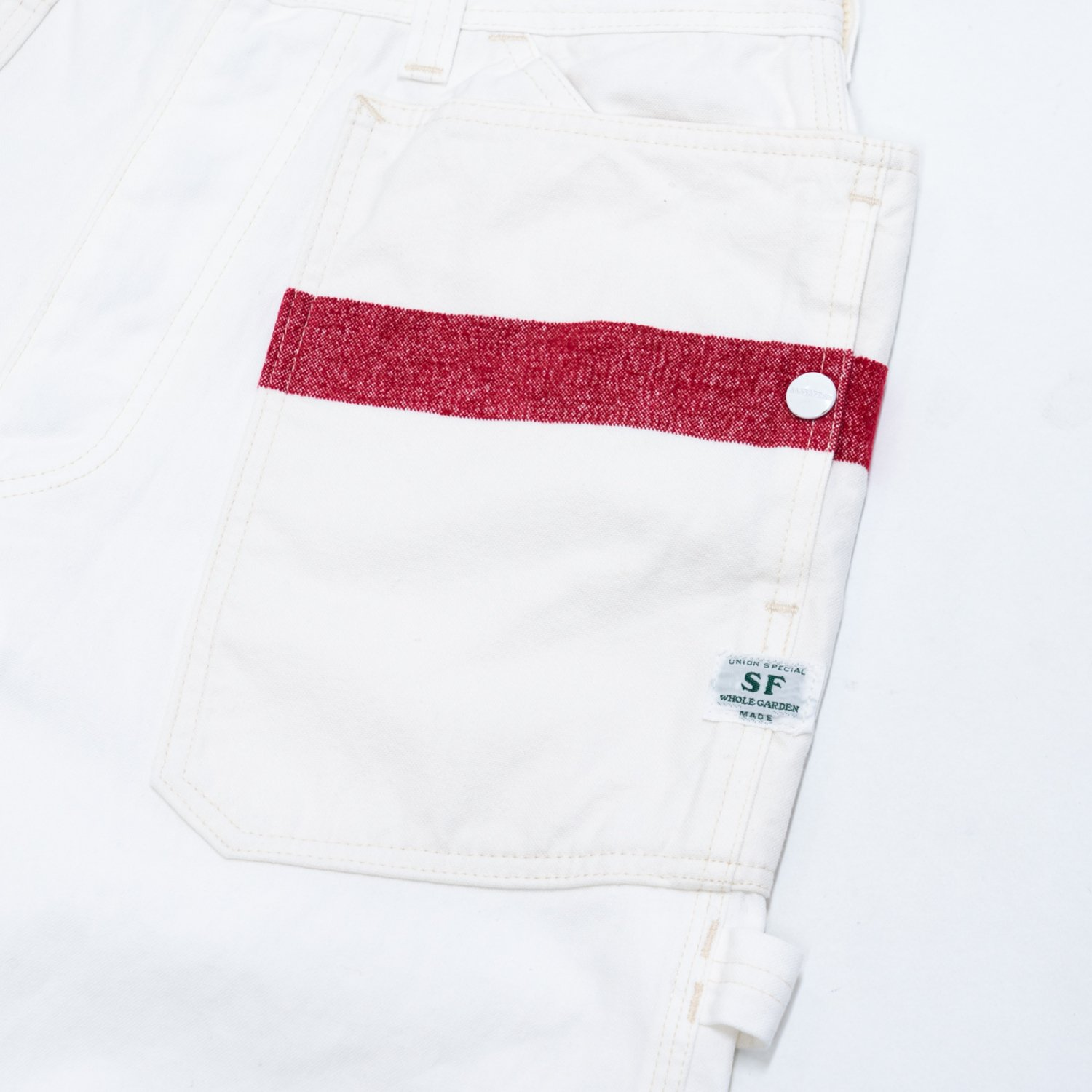 Mountain Reseach * × SASSAFRAS FALL LEAF GROWER'S PANTS * White