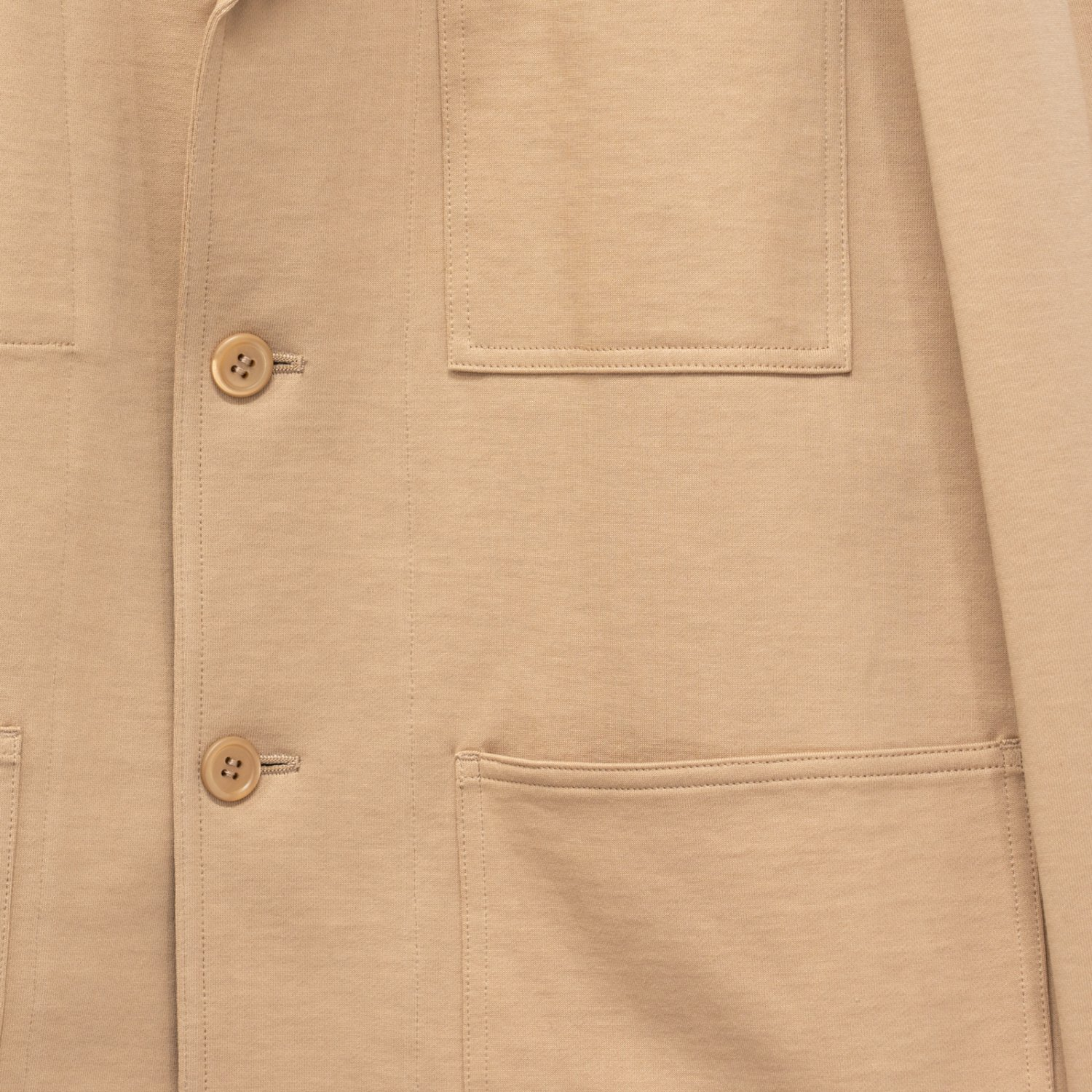 Graphpaper * French Work Sweat Jacket * Beige