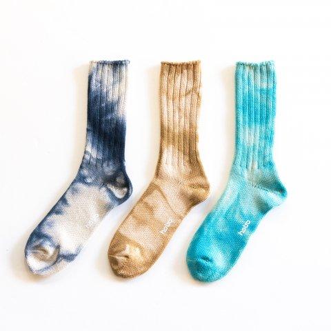 hobo * Tie Dye Crew Socks