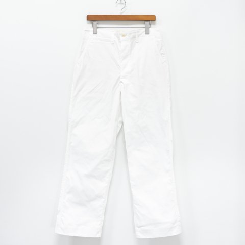 TUKI * 0130 Military Chinos * White