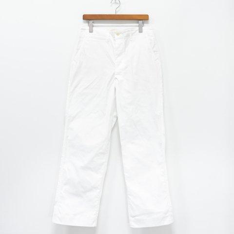 TUKI * 0130 Military Chinos * White