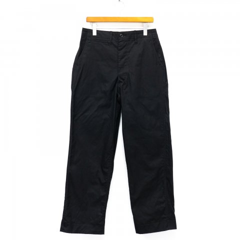 TUKI * 0130 Military Chinos * Black
