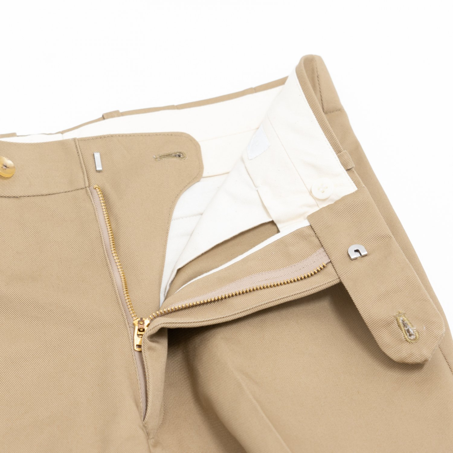RICHFIELD * Chino Straight Trousers * Beige
