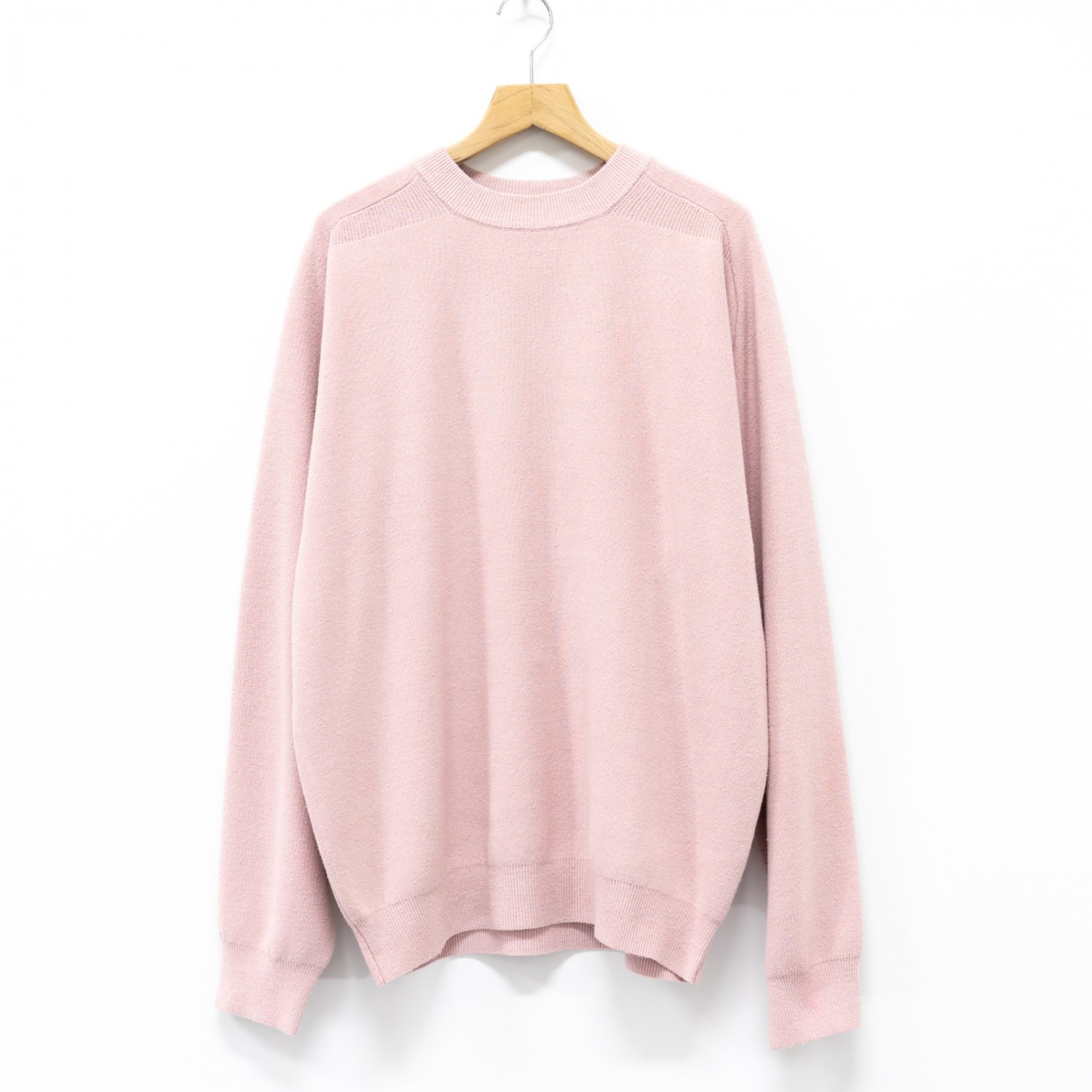UNUSED * US1789 Silk Crew Knit * Pink