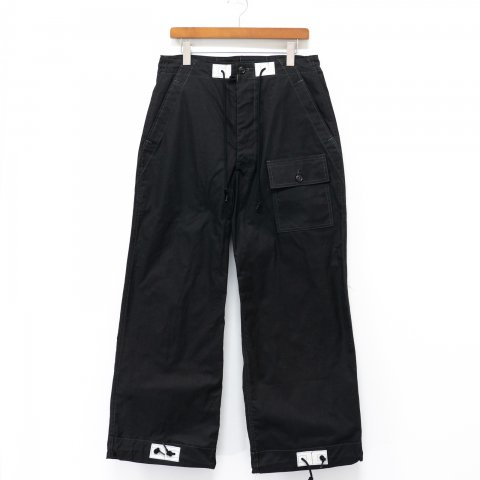 TUKI * 0131 Over Pants * Black