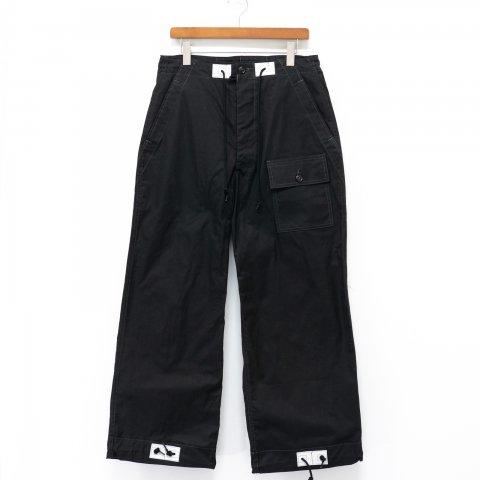 TUKI * 0131 Over Pants * Black
