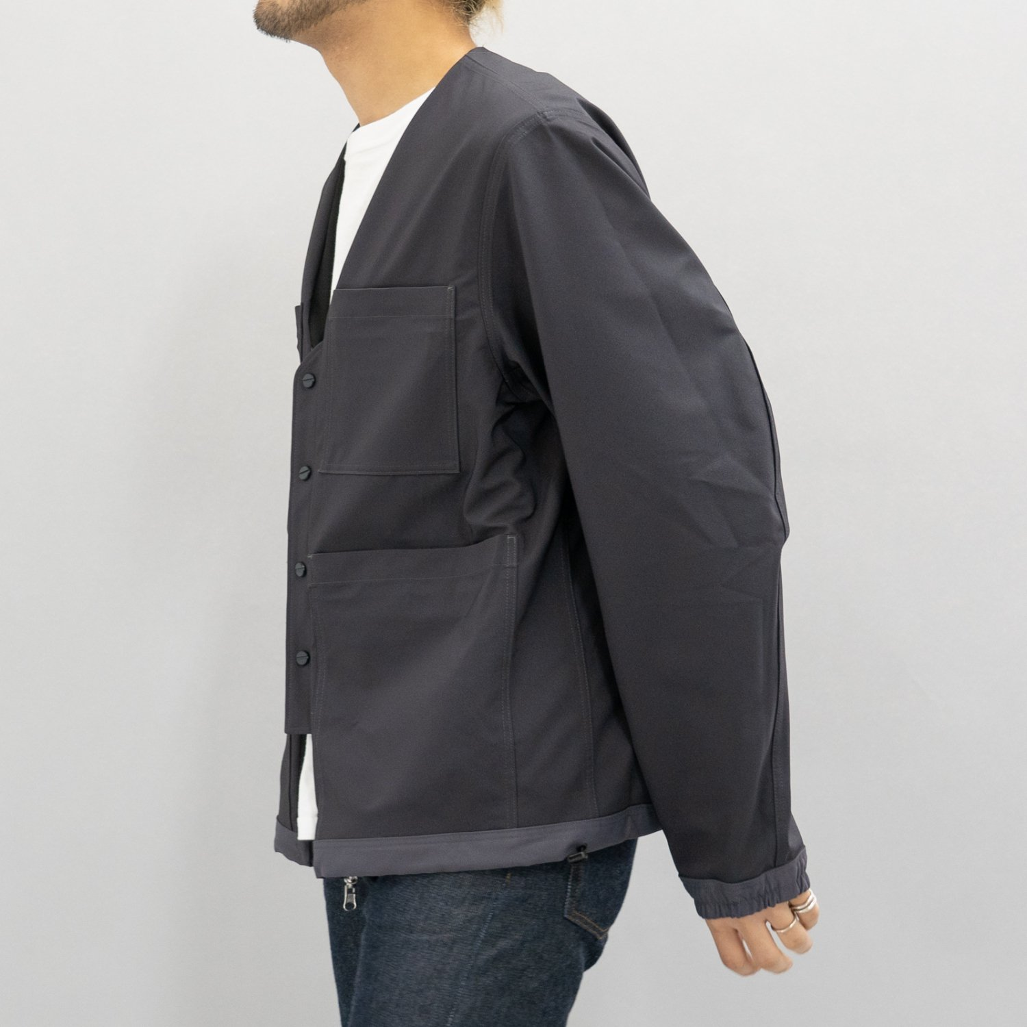 meanswhile * Solotex Reversible 4Way JKT * Charcoal
