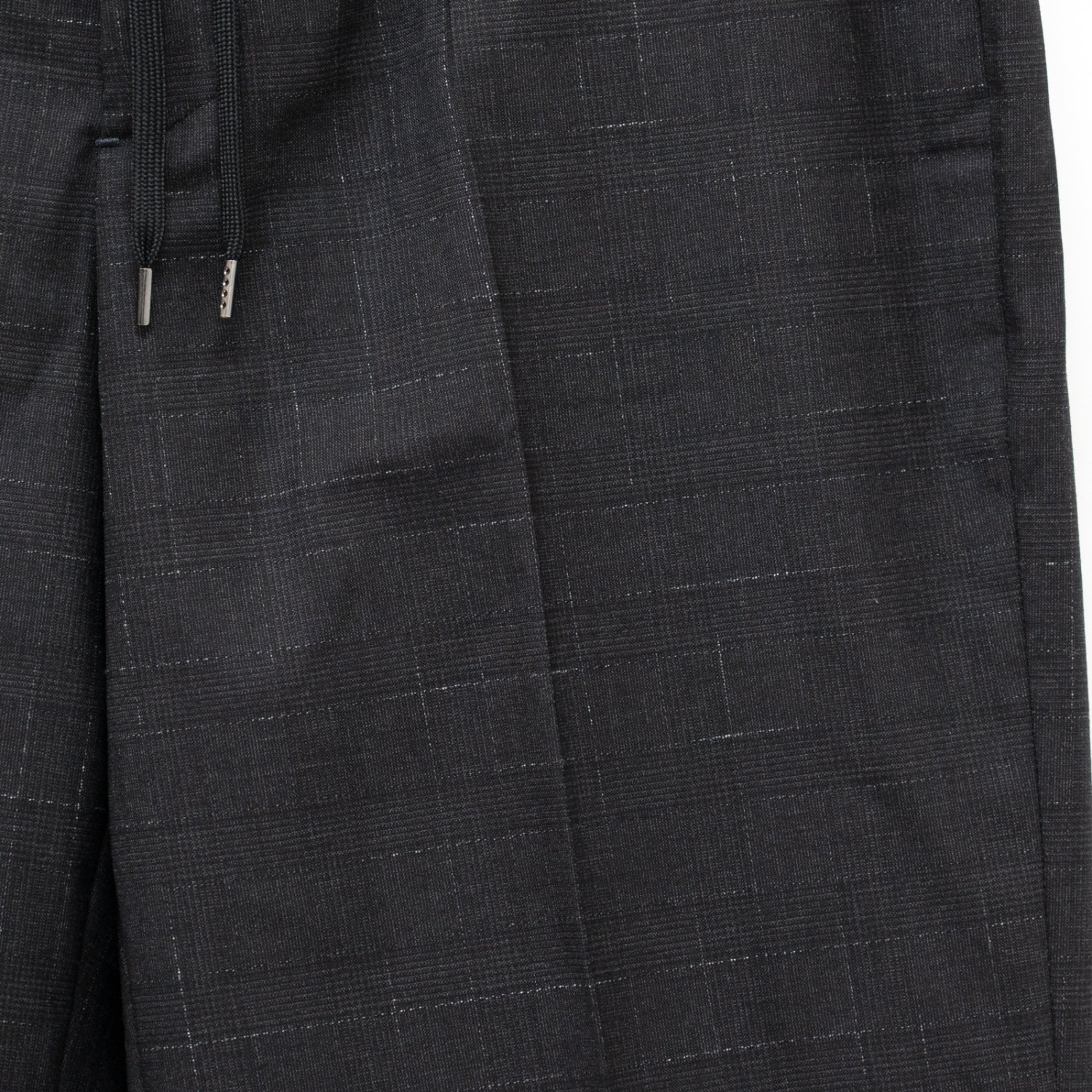 RICHFIELD * Wool Wide Straight Easy Trousers * C.Gray
