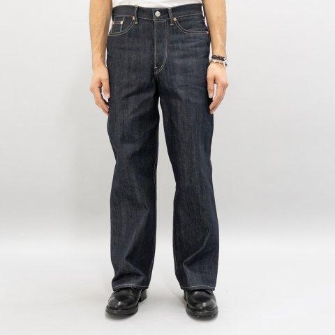 DAWSON DENIM * Wide Tapered Fit Jeans 14.25oz Selvedge Pure Indigo