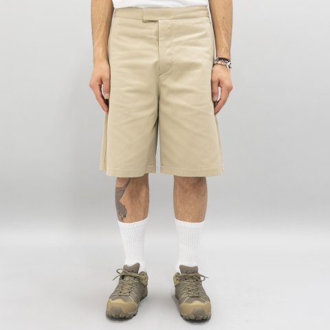 UNUSED * UW0845 Cotton Shorts * Beige