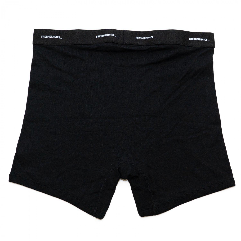 FreshService * Original 2-Pack Boxer Brief * Black
