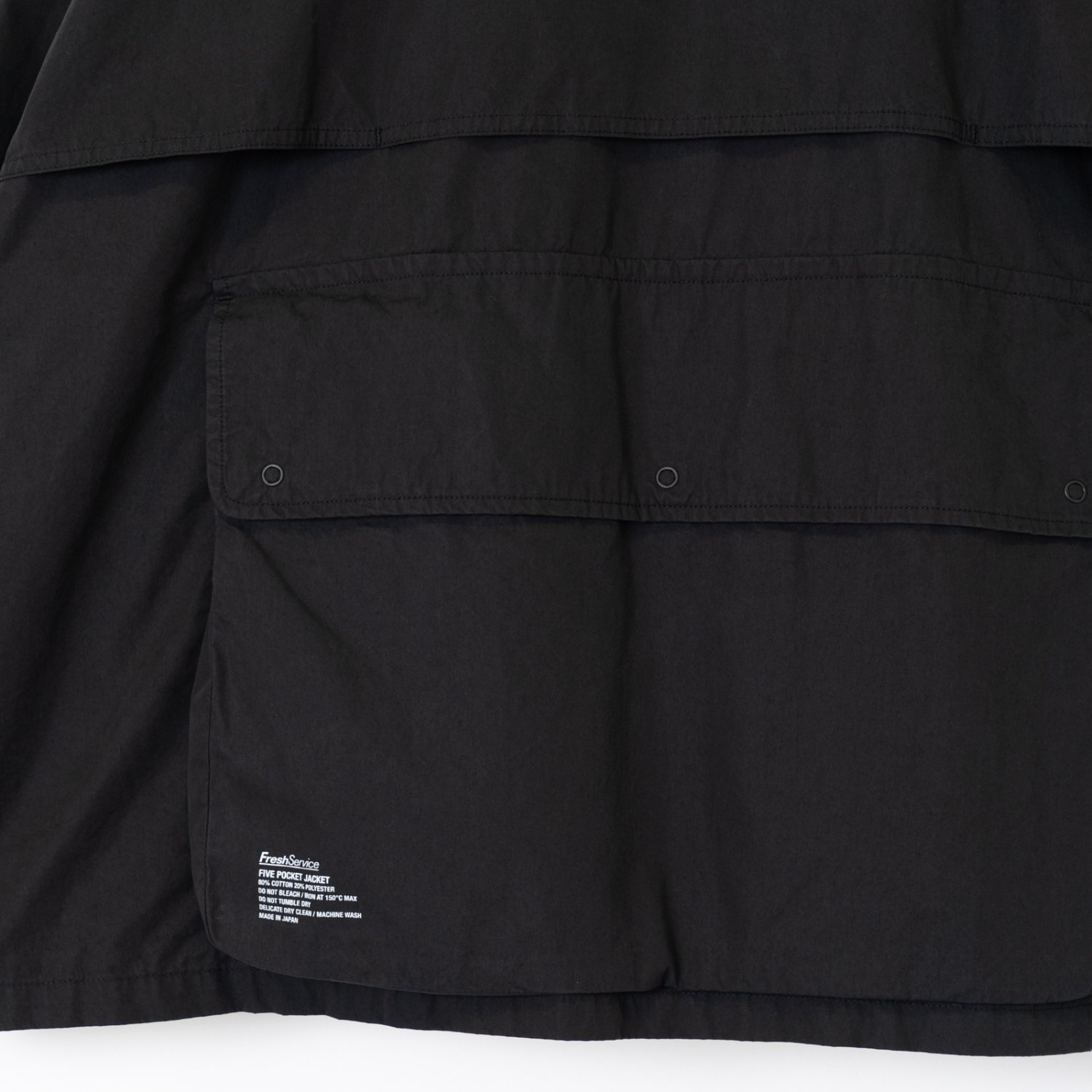 FreshService * Five Pocket Jacket * Black