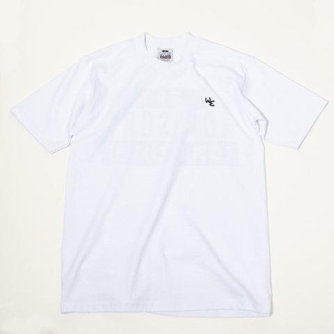 WE * ORIGINAL PRINT TEE * White