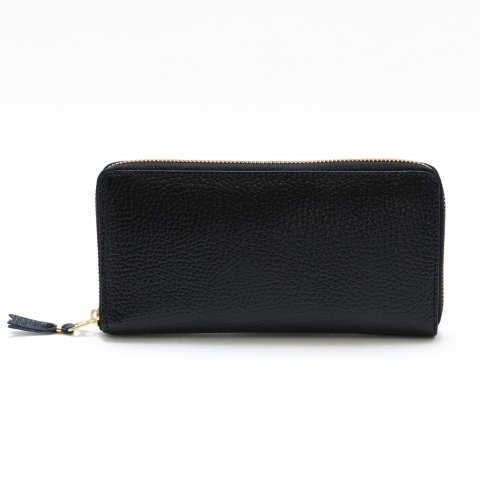 WALLET COMME des GARCONS * COLOUR INSIDE LONG WALLET * Black/Blue
