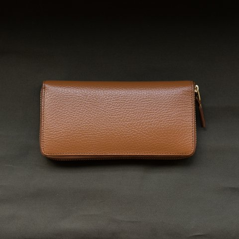 WALLET COMME des GARCONS * COLOUR INSIDE LONG WALLET * Brown/Orange